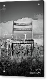 Abandon Chair Series Acrylic Print