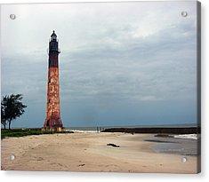 Abandon Lighthouse Acrylic Print