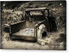 Acrylic Print featuring the photograph Abandonded Treasure by Scott and Amanda Anderson