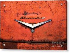 Abandoned 1958 Chevy Acrylic Print by Arni Katz