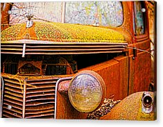Abandoned Antique Truck 2 Acrylic Print