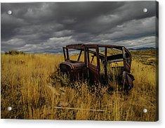 Abandoned Auto Acrylic Print