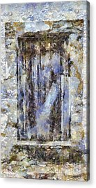 Abandoned Beauty Acrylic Print by Shirley Stalter