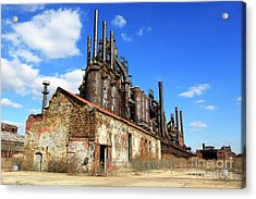 Abandoned Bethlehem Steel Acrylic Print
