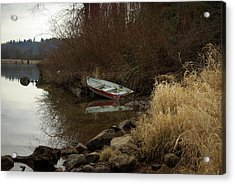 Abandoned Boat II Acrylic Print