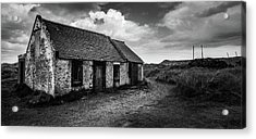 Abandoned Bothy Acrylic Print by Dave Bowman