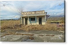 Abandoned Building Acrylic Print by Geraldine DeBoer
