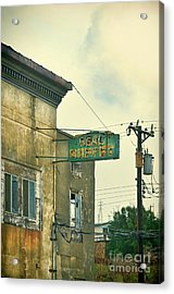 Acrylic Print featuring the photograph Abandoned Building by Jill Battaglia