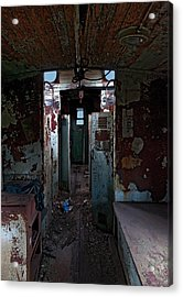 Abandoned Caboose Acrylic Print by Murray Bloom