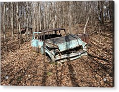 Abandoned Car 1 Acrylic Print