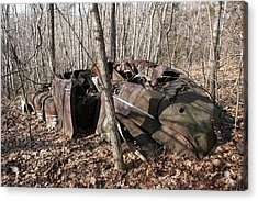 Abandoned Car 11 Acrylic Print