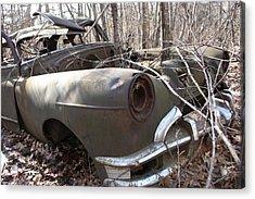 Abandoned Car 12 Acrylic Print
