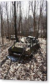 Abandoned Car 4 Acrylic Print