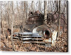 Abandoned Car 5 Acrylic Print