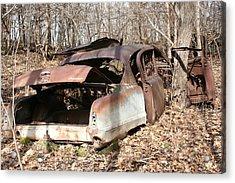 Abandoned Car 7 Acrylic Print