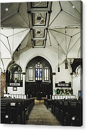 Abandoned Church Acrylic Print by Dylan Murphy
