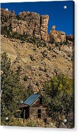 Abandoned Colorado Log Cabin Acrylic Print