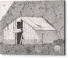 Abandoned Dairy-oklahoma Acrylic Print by Pat Price