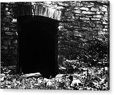 Abandoned Entry Acrylic Print