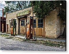 Abandoned Garage Acrylic Print