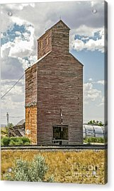 Acrylic Print featuring the photograph Abandoned Grain Elevator by Sue Smith
