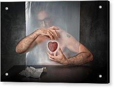 Abandoned Heart Acrylic Print by Vito Guarino