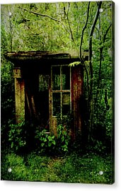 Abandoned Hideaway Acrylic Print by Sarah Vernon
