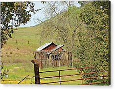 Acrylic Print featuring the photograph Abandoned Homestead by Art Block Collections