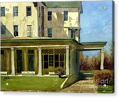 Abandoned Hotel Acrylic Print by Donald Maier