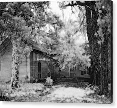 Abandoned House Acrylic Print by Fred Baird