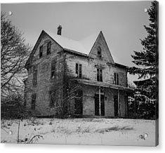 Abandoned House Acrylic Print
