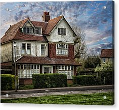 Abandoned House Acrylic Print by Martin Newman