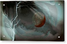 Abandoned In A Dying World Acrylic Print by Darin Baker