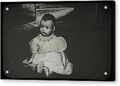 Abandoned In The Dark Acrylic Print by Cindy Nunn