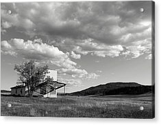 Abandoned In Wyoming Acrylic Print