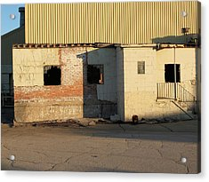 Acrylic Print featuring the photograph Abandoned Industrial Site #1 by Scott Kingery
