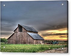 Acrylic Print featuring the photograph Abandoned by Jim and Emily Bush