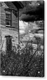 Acrylic Print featuring the photograph Abandoned by Kendall McKernon