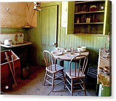 Abandoned Kitchen Acrylic Print