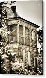 Abandoned Plantation House #4 Acrylic Print by Andrew Crispi