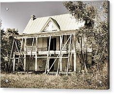 Abandoned Plantation House #2 Acrylic Print by Andrew Crispi