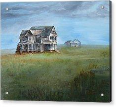 Abandoned Redman - Hirahara House  Acrylic Print