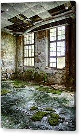 Abandoned Room - Urban Decay Acrylic Print by Dirk Ercken
