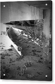 Abandoned Sailboat Acrylic Print by Megan Verzoni