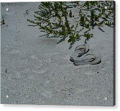 Abandoned Seaside Acrylic Print