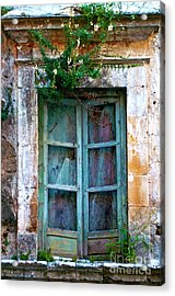 Acrylic Print featuring the photograph Abandoned Sicilian Sound Of Noto by Silva Wischeropp