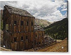 Abandoned Silver Mine Acrylic Print