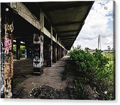 Abandoned Structure - Laclede's Landing Acrylic Print by Dylan Murphy