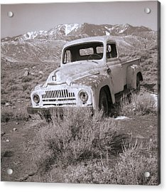 Abandoned Truck Acrylic Print by Janeen Wassink Searles