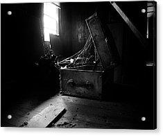 Abandoned Trunk Acrylic Print